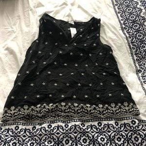 NWT GAP EMBROIDERED TANK